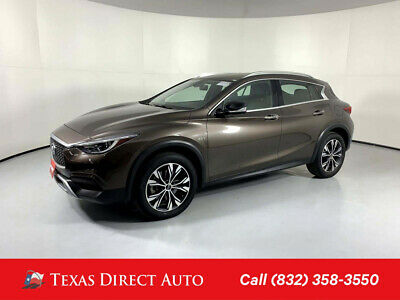 2018 Infiniti QX30 Luxury Texas Direct Auto 2018 Luxury Used Turbo 2L I4 16V Automatic AWD SUV Premium