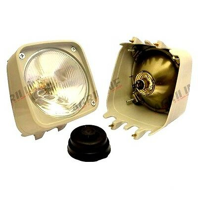 Headlight (R/H) Fits Ford 3610 4110 4610 5610 6410 6610 6810 7610 7810 Tractors.