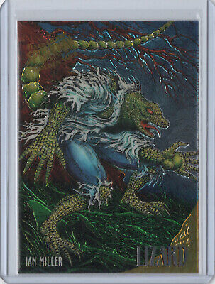 1995 Fleer Ultra Spider-Man GOLDEN WEB Chase Card #5 LIZARD Marvel