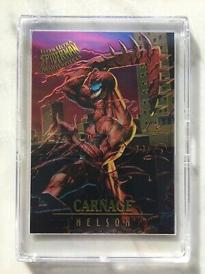 1995 Fleer Ultra Spider-Man MASTERPIECES Chase Card #2 CARNAGE Nelson Marvel