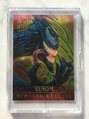 1995 Fleer Ultra Spider-Man MASTERPIECES Chase Card #8 VENOM Patelis Marvel