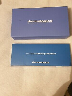 New Dermalogica Satin Eye Mask Boxed+Head Band Cleansing Companion 'Ideal Gift'