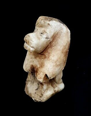 Sekhmet Egyptian Goddess Statue Figurine Ancient Throne Egypt Sculpture Lioness