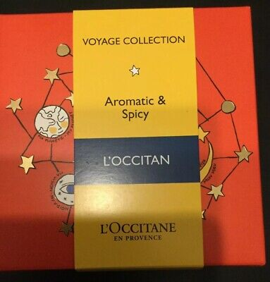 L'Occitane en Provence Voyage Collection Aromatic & Spicy Men's new gift set