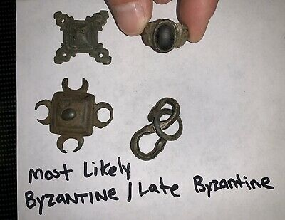 Bronze Antique Byzantine Relics/ Artifact Lot