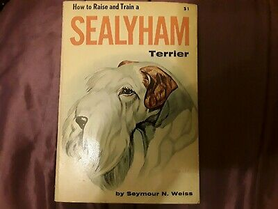 Sealyham terrier collectable book by Seymour n. Weiss