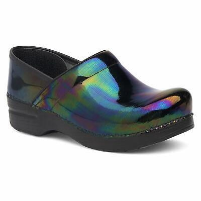 Women's Dansko Professional Petrol Patent Leather