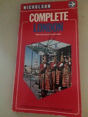 Nicholson - Complete London With Full Colour Street Maps
