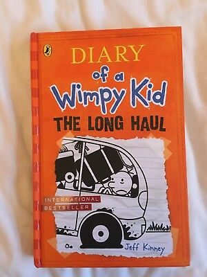 Jeff Kinney signed first edition HB Diary of a Wimpy Kid: The Long Haul