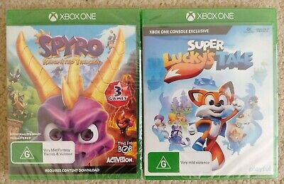 New Spyro Reignited Trilogy & Super Lucky's Tale Xbox One Games