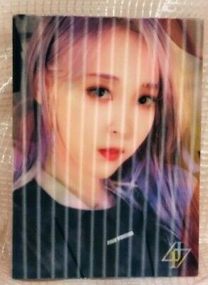 MaMaMoo Official Photocard 2nd Album Reality in Black kpop ver 2 HIP