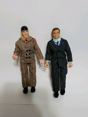 Vintage Star Trek Playmates Kirk And Spock Gangster Action figure