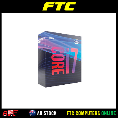 Boxed Intel Core i7-9700 Processor (12M Cache, up to 4.70 GHz)