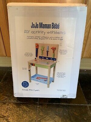 Brand New In Box BNIB Jojo Maman Bebe DIY activity Workbench