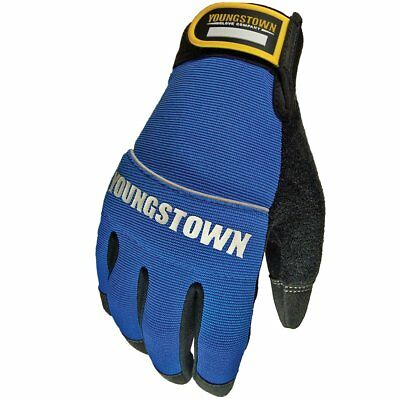 Youngstown Glove 06-3020-60-L Mecánicos Plus Rendimiento Guante Grande, Azul