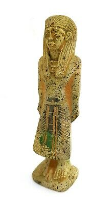 Ushabti Egyptian Ancient hieroglyphic Shabti Egypt Statue Rare Stone Antique art