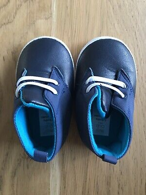 Boots Mini Club Baby Boys' Blue Boots Shoes 6-9 Months