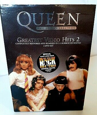 Queen - Greatest Video Hits 2 - (Wide Screen) (DVD, 2003, 2-Disc Set) 5.1 Sound