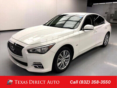 2017 Infiniti Q50 2.0t Texas Direct Auto 2017 2.0t Used Turbo 2L I4 16V Automatic AWD Sedan Premium
