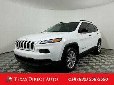 2017 Jeep Cherokee Sport Texas Direct Auto 2017 Sport Used 2.4L I4 16V Automatic FWD SUV