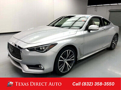 2019 Infiniti Q60 3.0t LUXE Texas Direct Auto 2019 3.0t LUXE Used Turbo 3L V6 24V Automatic AWD Coupe