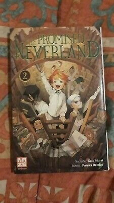 manga BD The Promised Neverland Tome 2 French