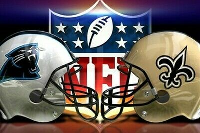 2 tickets Carolina Panthers vs New Orleans Saints LOWER section 254