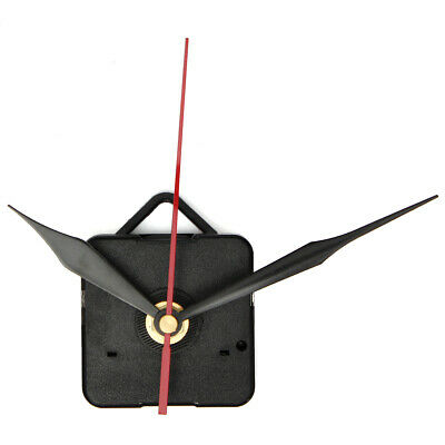 DIY Wall Quartz Clock Movement Black and Red Hands Mechanism Repair Tool Parts