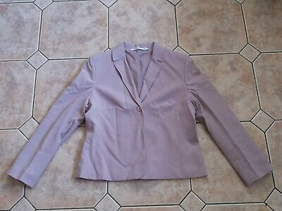 Ladies Suit Jacket. Short. Marks & Spencer's M&S. UK Size 14. Petite Fit. Lilac.
