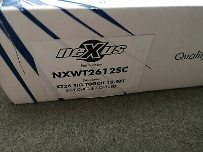 Nexus XT26 12.5ft TIG Welding Torch Hose Assy Switched Covered NXWT2612SC Binsel