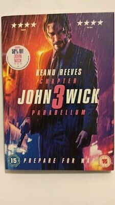 John Wick: Chapter 3 - Parabellum DVD (2019) new.and sealed genuine UK DVD