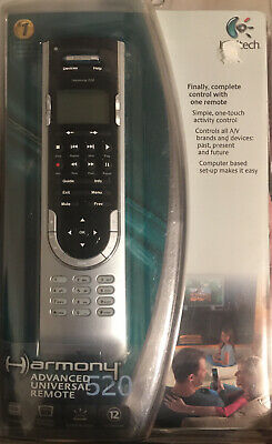 Logitech Harmony 520 LCD Advanced Universal Remote Control - BRAND NEW - SEALED