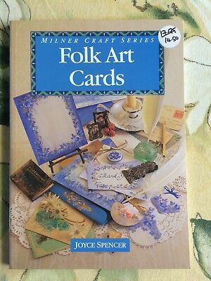 Folk Art Cards by Joyce Spencer - A Milner Craft Series book