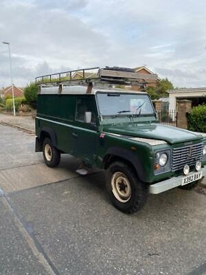 Land Rover Defender 110 TD5 2000 Green Van Body Tow Gear