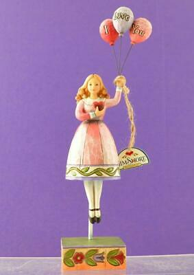 Jim Shore Girl With Balloons Figurine