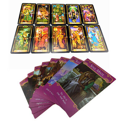 Romance Angel Oracle Cards Tarot + Guidance of Fate Cards Game Card Set Gift