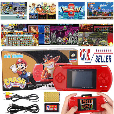PVP 3000 Portable Handheld Digital Pocket Game Console Classic Games+Game Card