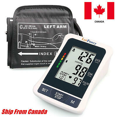 Automatic LCD Digital Upper Arm Blood Pressure Monitor BP MediumCuff Home Test
