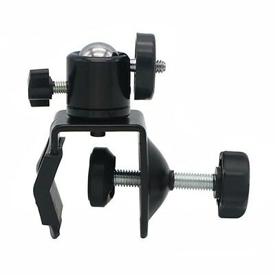 "Photo Studio U Clip C Clamp w1/4"" Ball Head Bracket for Came Flash Light StandJR"