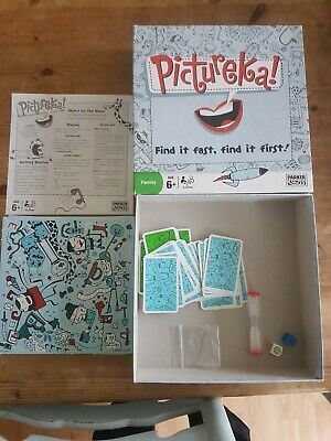 Parker Board Game Pictureka! Hasbro Family Game