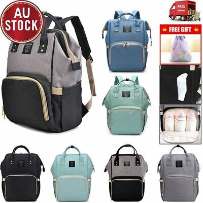 GENUINE LAND Multifunctional Waterproof Large Mummy Nappy Diaper Backpack Bag