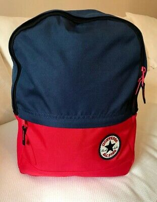 Unisex Converse All Star Backpack, Navy blue and red, 100% Polyester