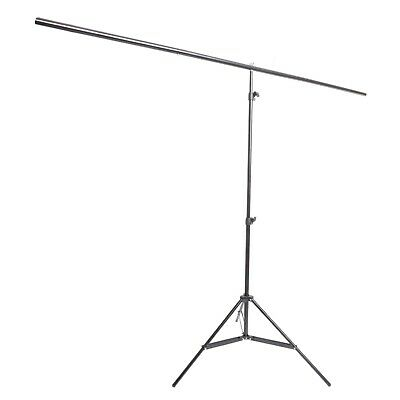 Aluminium T Bar Background Backdrop Support Stand with Clamps 2x1.8m
