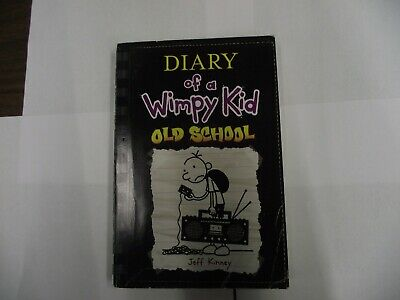 Diary of a Wimpy Kid: Old School Bk. 10 by Jeff Kinney (2015, Hardcover)
