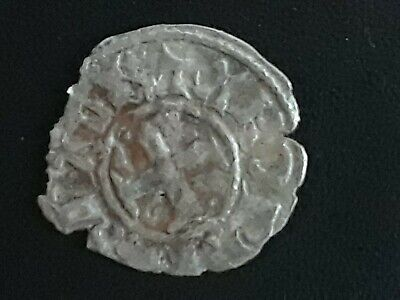 Crusader Cross Templar Coin SILVER 1100-1300 Byzantine period 700 plus year old