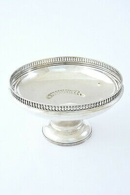 Sterling Silver Pedestal Bowl - George V 1922
