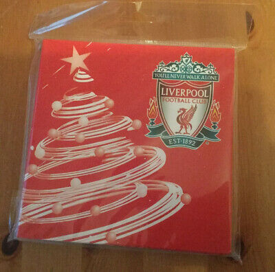 Official Liverpool Fc Christmas Cards 1 X Packs Of 10 10 Cards B New Sealed 8 49 Picclick Uk