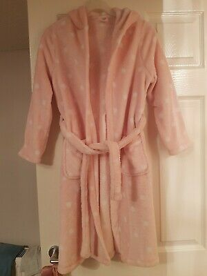 Girls Marks + Spencers Dressing Gown Age 9 -10 Yrs