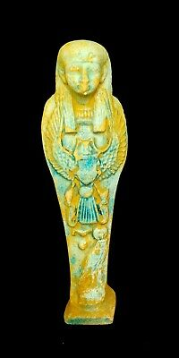 Shabti Egyptian Ushabti Ancient Statue Bc Faience Egypt Antiques Stone Antique