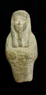 Ushabti Egyptian Shabti Antique Ancient Statue Rare Egypt Stone Faience Carved
